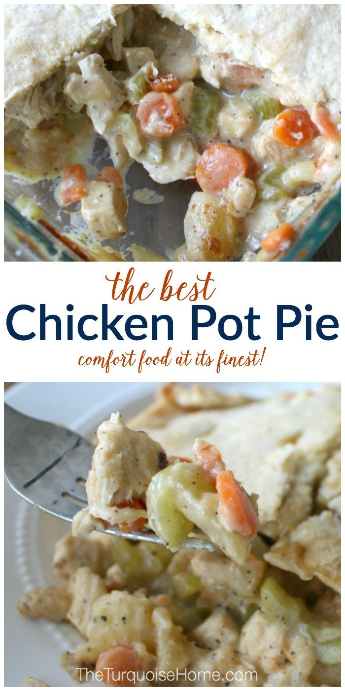Slap yo mama good!! The BEST Chicken Pot Pie recipe!   TheTurquoiseHome.com