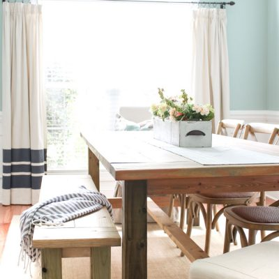 Gorgeous DIY Dining Table Ideas