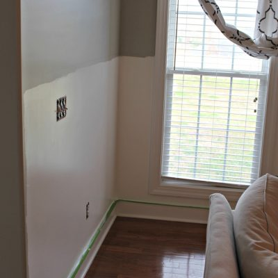 Living Room Makeover – Part 2: More Paint