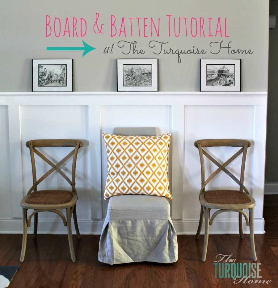 Filed under board and batten wainscoting diy diy projects - Now I Know That Everyone And Their Mother Has Tried Board And Batten Or At Least It Seems That Way And I Have Been Semi Stalking All Things Board And