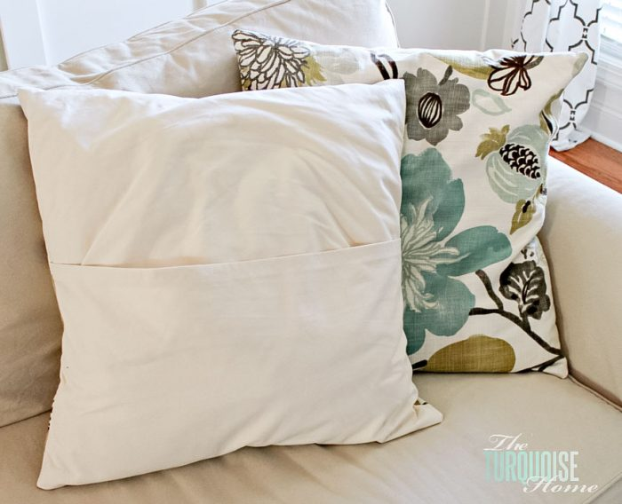 I want to throw my sewing machine out the window every time I use it & Easy DIY Throw Pillow | Part 6: Living Room Makeover | The ... pillowsntoast.com