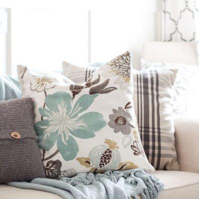 Splurge vs. Save | cheap ideas for throw pillows!