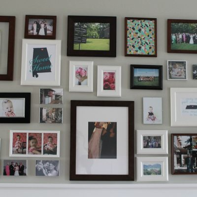 Living Room Makeover – Part 5: Gallery Wall