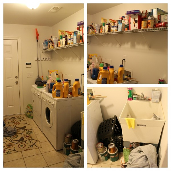 The Laundry Room: Before