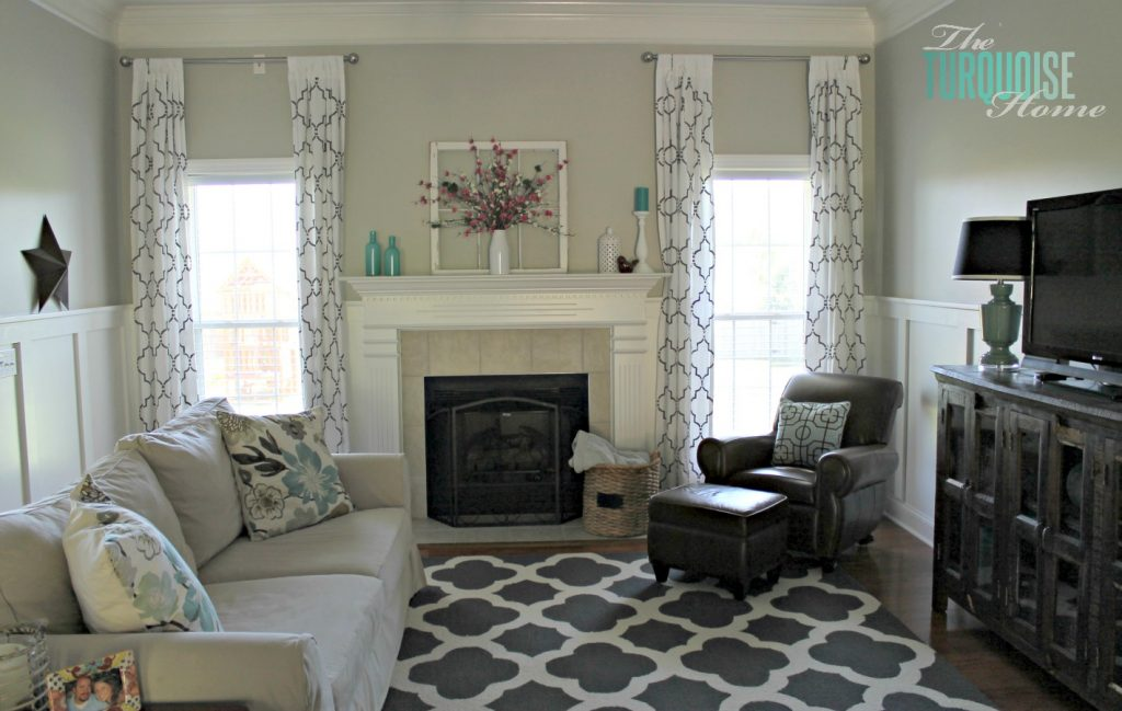 A Photo Gallery Of Dramatic Home Makeovers And Before After Pictures Enchanting Living Room Turquoise Remodelling