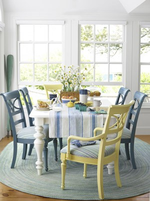 Cute dining room chairs the turquoise home for Cute dining room sets