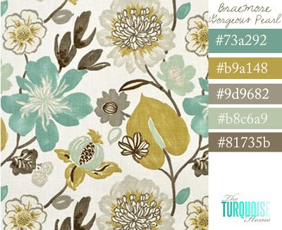 Drooling over … Braemore Gorgeous Pearl Fabric