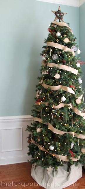 My Christmas Tree 2012 {rustic glam}
