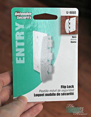 Toddler Safety: Door Flip Locks