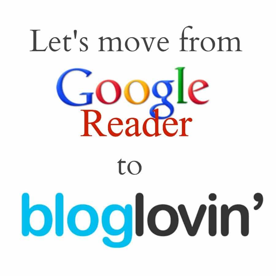 Let's Move from Google Reader to Bloglovin'