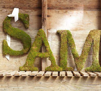 Moss Letter Tutorial
