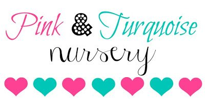 A Pink & Turquoise Nursery {Room Reveal}