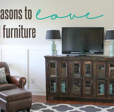 Four Reasons to Love Wood Furniture
