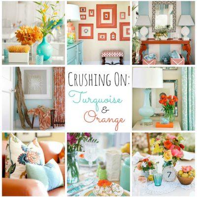 Crushing on: Turquoise & Orange