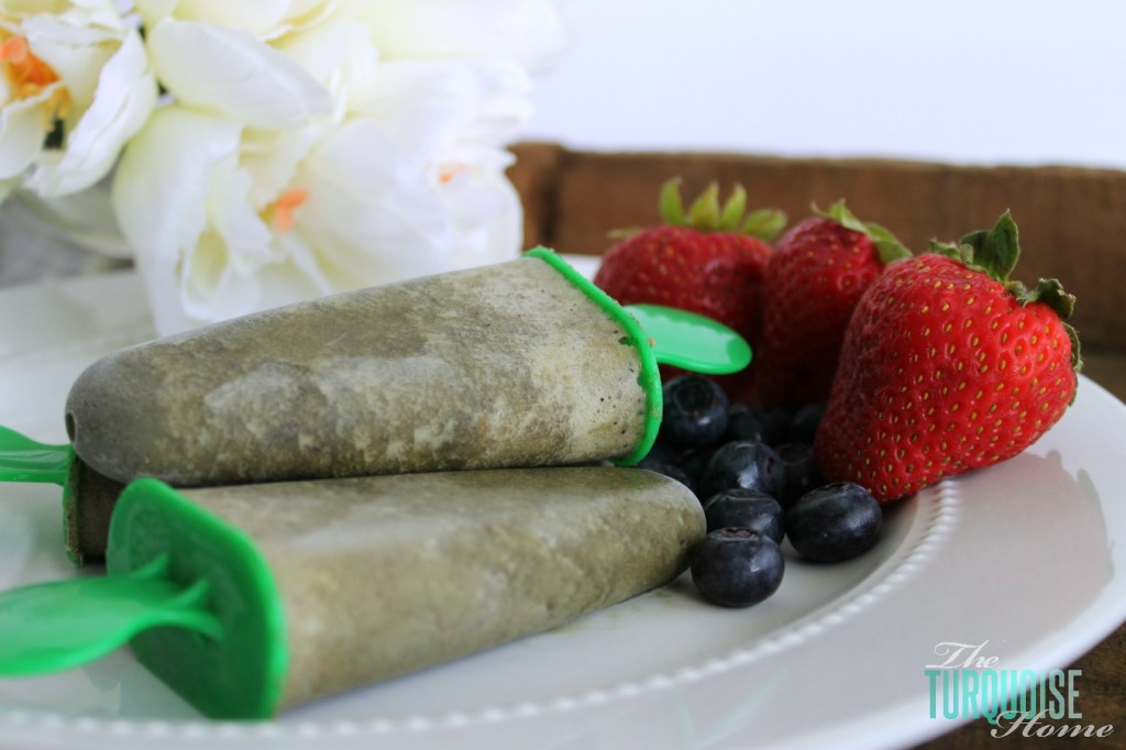 kid friendly green smoothie popsicles 8