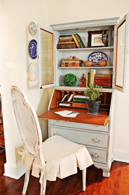 secretary desk from Miss Mustard Seed