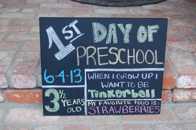 First Day of School DIY Sign