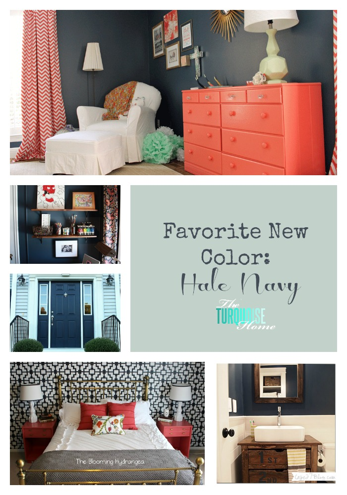 Crushing on hale navy the turquoise home for Hale navy benjamin moore