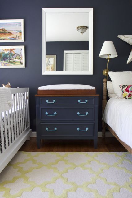 Hale Navy Nursery Reveal