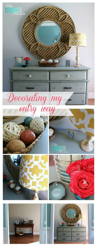 How-to-style-an-entry-way-table-collage