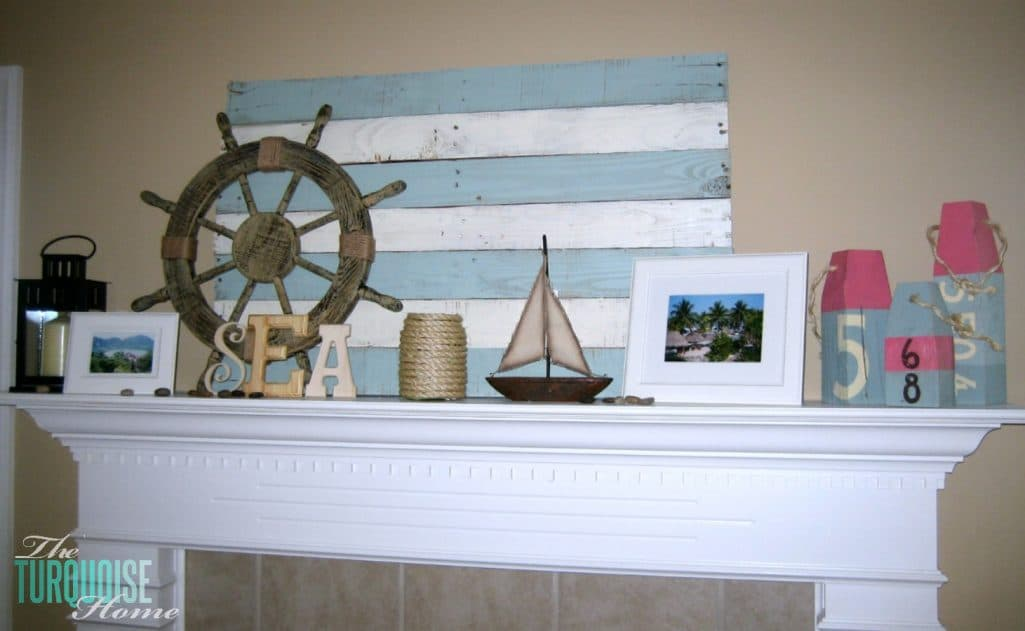 Summer Home Decor my lazy summer decor | the turquoise home