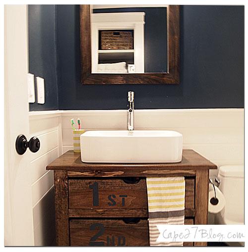Hale Navy Bathroom Remodel