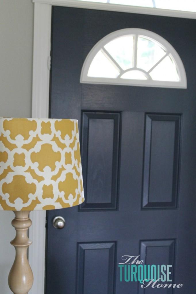 Hale Navy Yellow Lamp Shade