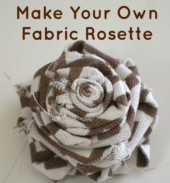 DIY Fabric Rosettes