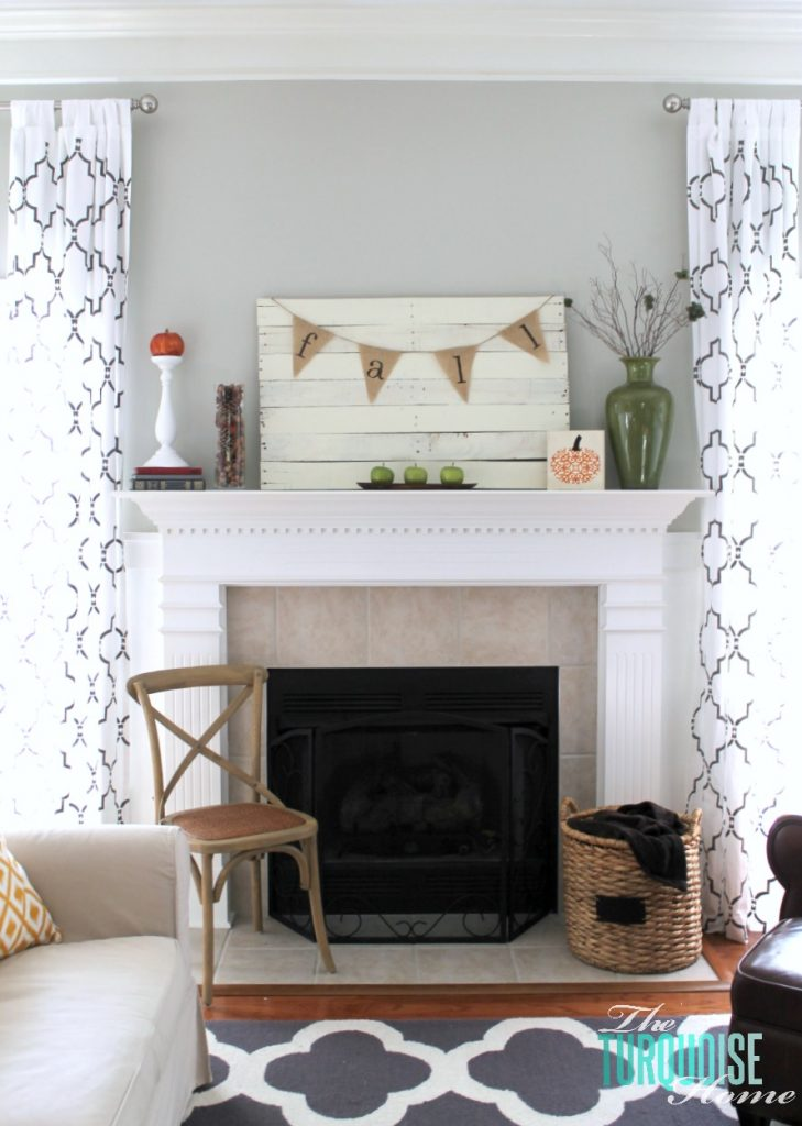 Planked-pallet-fall-mantel