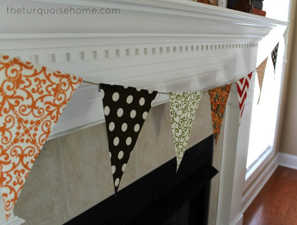 Lovely No Sew Bunting Tutorial