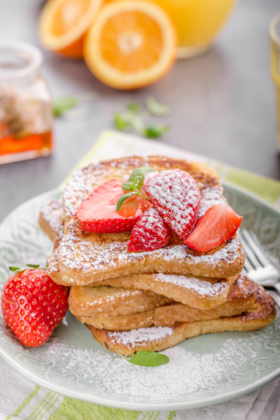 Nutmeg & Cinnamon French Toast Recipe