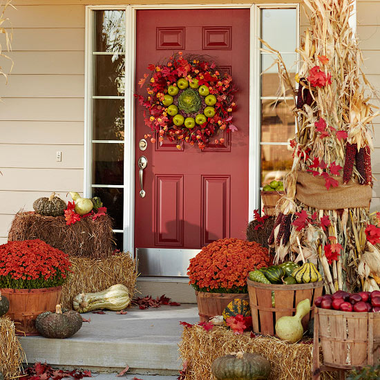 11 Ways to add Fall to your Home | Festive Entry from BHG