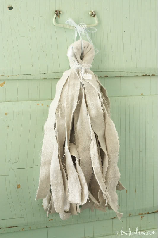 Drop Cloth Tassles