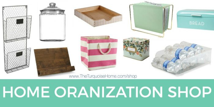 Shop My Latest Organizational Finds! | The Turquoise Home