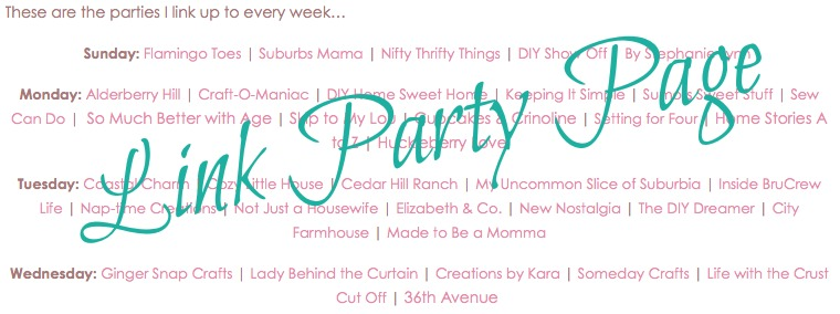 Link Party Tips {@ The Turquoise Home}