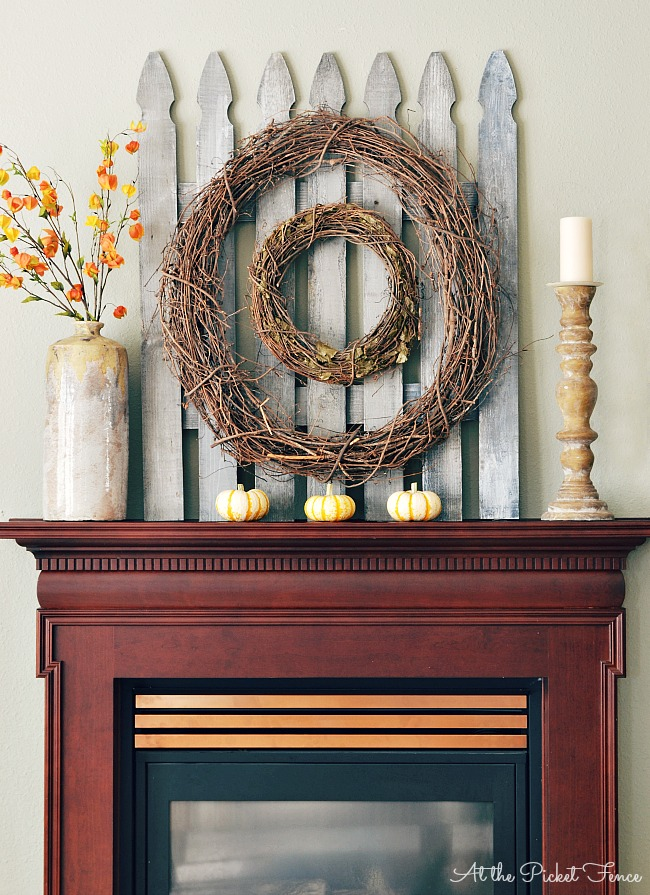 11 Ways to add Fall to your Home | Picket Fence from At the Picket Fence