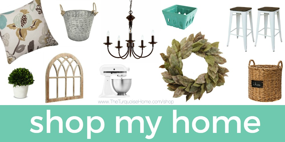 Shop My Home! | The Turquoise Home