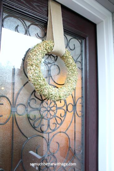 Split Pea Wreath