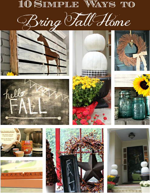 10 Simple Ways to Add Fall at Home