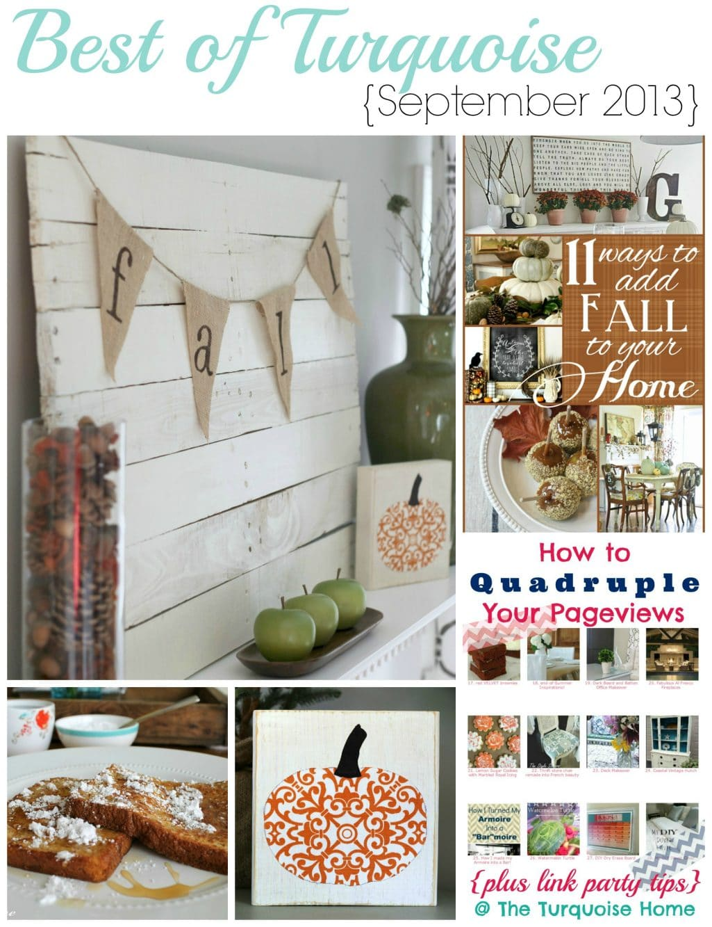 Best of Turquoise {September 2013} & More!