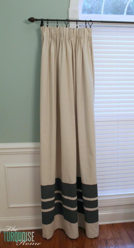 Diy Easy Pleated Curtains The
