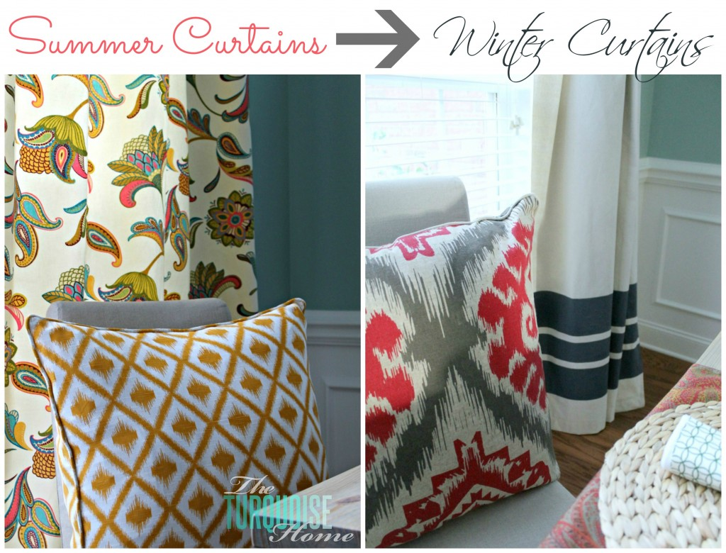 Drop Cloth Curtains Tutorial Diy Drop Cloth Curtains The Turquoise Home