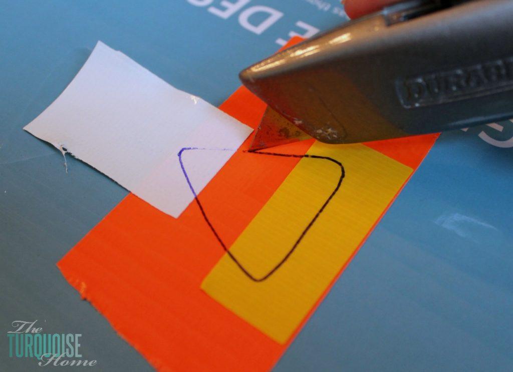 DIY Pumpkin Decor with Tape