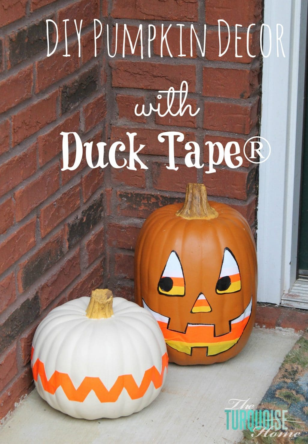 DIY Pumpkin Decor with Duck Tape® & a Halloween Blog Hop {#StickOrTreat}