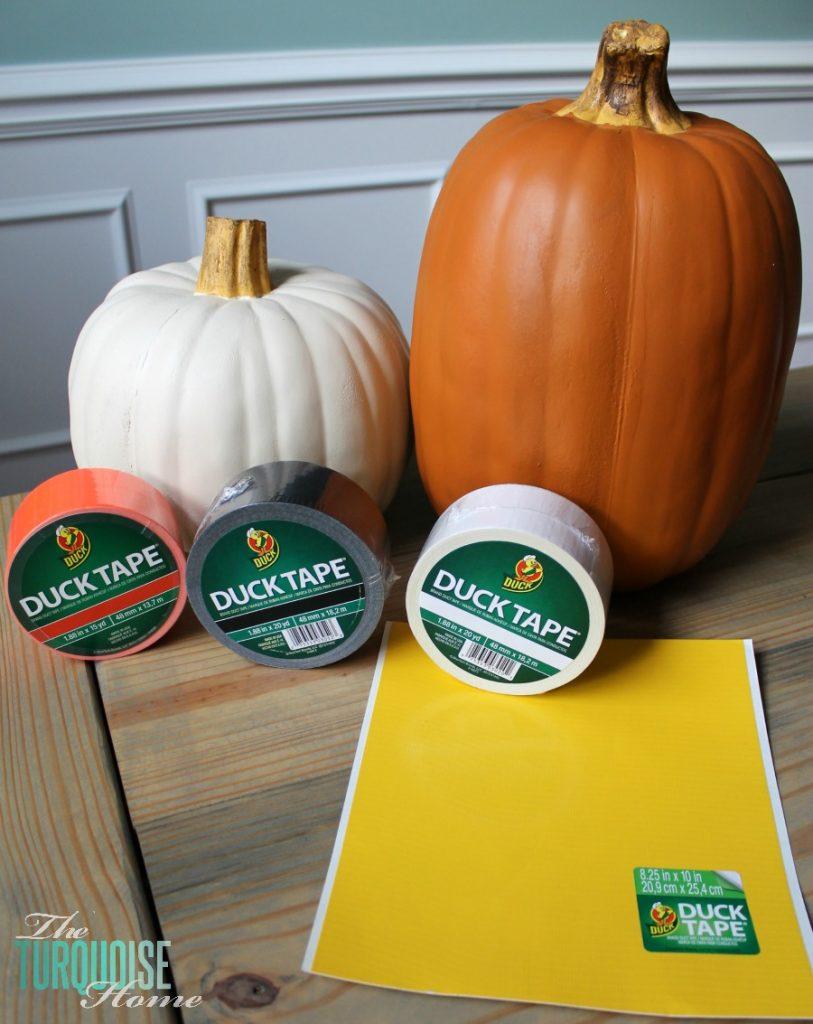 DIY Pumpkin Decor Supplies
