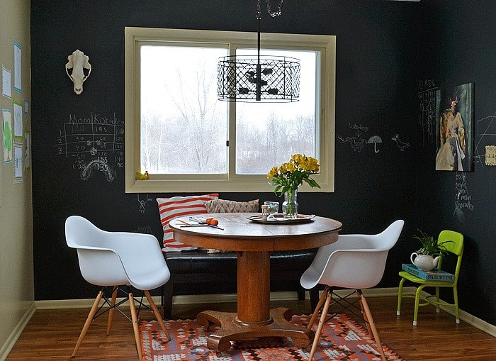 Good Painted Chalkboard Walls