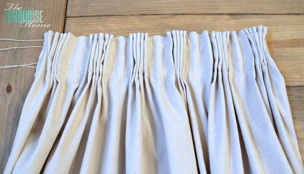 Diy Curtains Diy easy pleated curtains