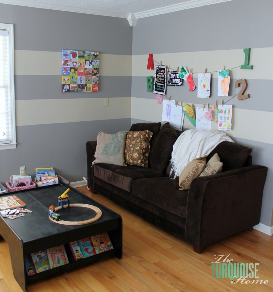 Playroom: Formal Dining Room To Functional Play Room