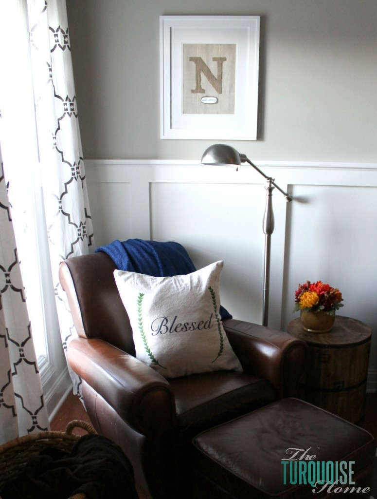 diy stenciled drop cloth pillow diy dropcloth silhouette