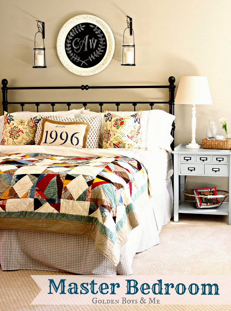 Beautiful Master Bedroom Makeover